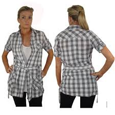 ladies check shirts