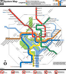 dc subway maps