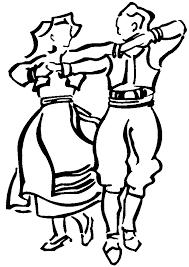 folk dancers