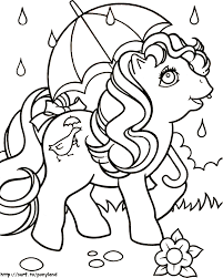 my little pony coloring books