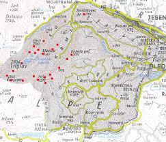 julian alps map