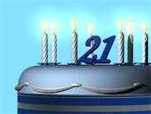 21st birthday clip art