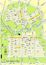adelaide city maps