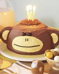 birthday cake monkey
