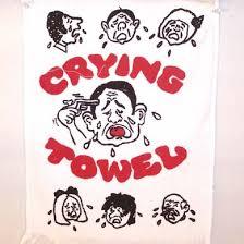 crying towel