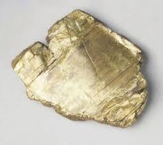 minerals gold