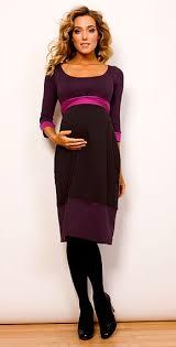 purple maternity dresses