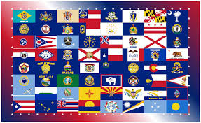 all the states flags