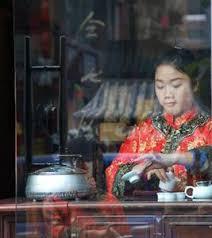 chinese tea drinking