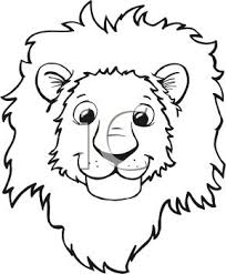 cartoon picture of a lion