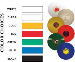 color vinyl records