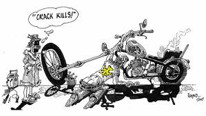 cartoon pictures of motorcycles