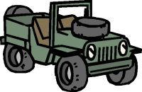 army vehicle clip art