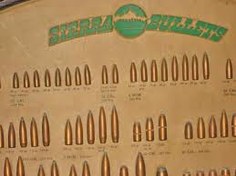 compare bullet sizes