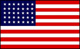 35 star american flag