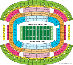 cowboys stadium seating chart
