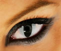cat eye contact lens