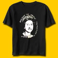 t shirt god save the queen