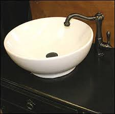 bathrooms with vessel sinks