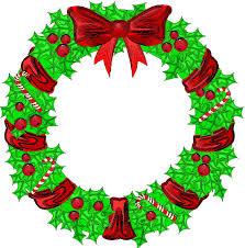 christmas clipart wreath