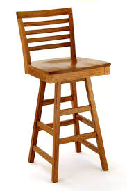 hardwood bar stools