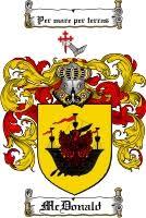 mcdonald clan crest