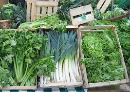 pictures of green leafy vegetables