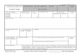 flight plan forms