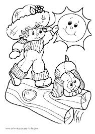 strawberry shortcake kid