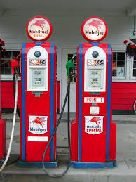 pictures of gas stations