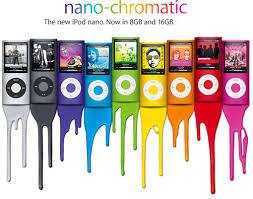 chromatic ipod nano