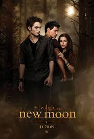 new moon the movie poster