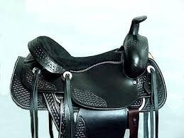 black saddles
