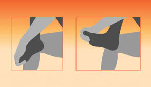 feet stretching