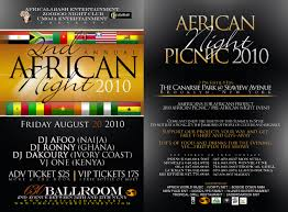 african night clubs
