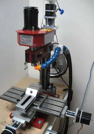 home made cnc mill