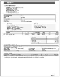 invoices templates