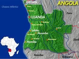 mapas angola