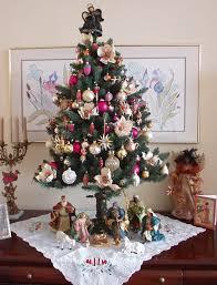 antique christmas trees