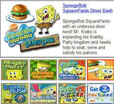 Play SpongeBob games.