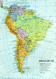 mapa de los rios de america