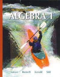 algebra 1 textbooks