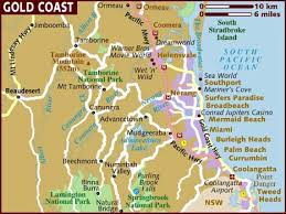 map of goldcoast
