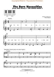 disney piano sheet music