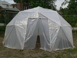 geodesic green house