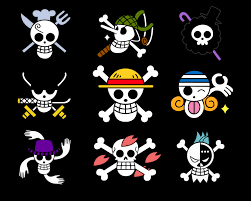 one piece pirate flags