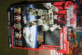 transformers jazz toy