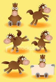 cartoon horses pictures