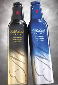 aluminium beer bottles