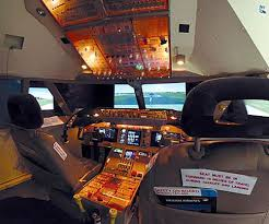 flight simulator 747